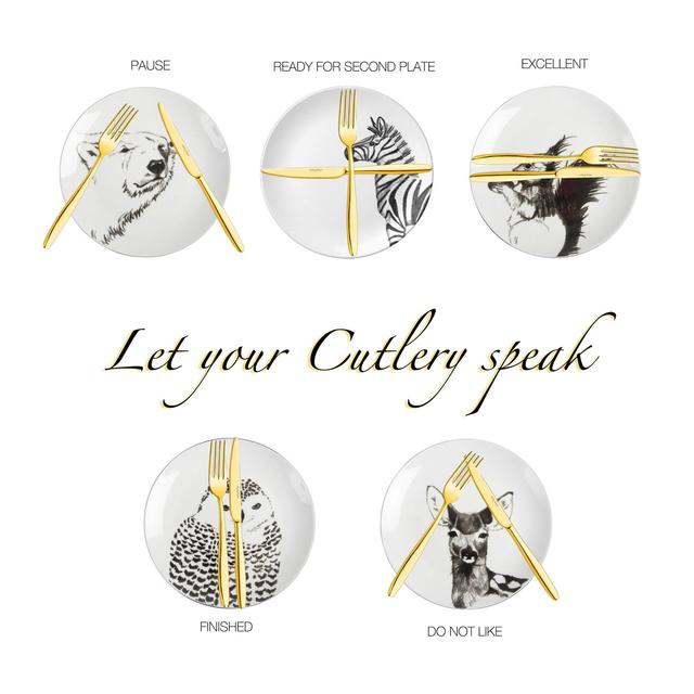 Let your cutlery speak