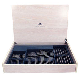 66401048 48 pcs. cutlery set 18/10 stainless steel Luxury Case