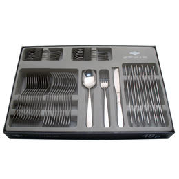 67400048 48 pcs. cutlery set 18/10 stainless steel Design Window Box