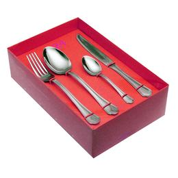 61600525 24 pcs. cutlery set forged knife Nature Box