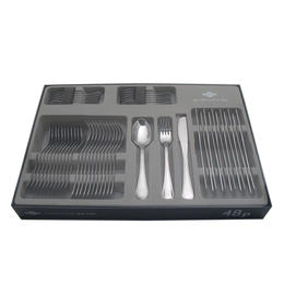 67319048 48 pcs. cutlery set pressed knife Design Window Box